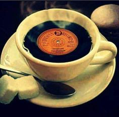 Smooth coffee with sound