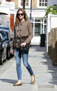 LOOK OF THE DAY :Olivia Palermo In London
