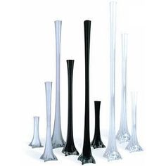Tall vases in bulk for centerpieces ... many sizes and styles