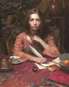'Assignment', by American Artist, Morgan Weistling (b. 1964)