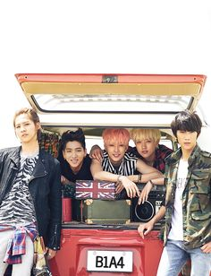 B1A4 cover yall look good ^^