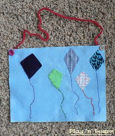 5 Little Kites and a simple sewing project.
