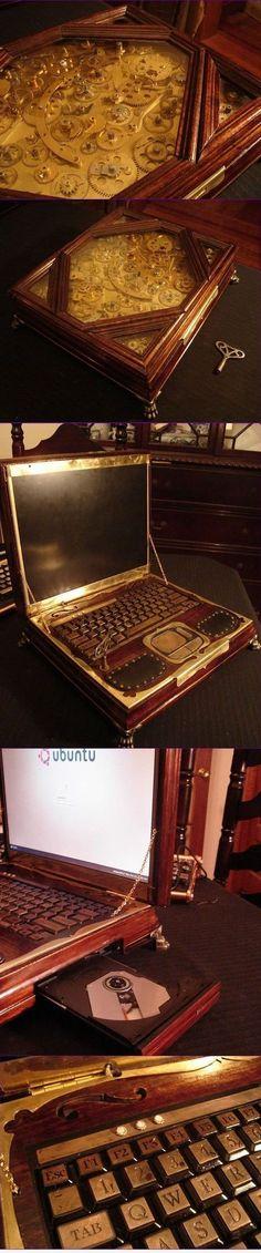 My new laptop just arrived :: 우아우아.. 대박, 이거 정말 멋지군요. 이런거 정말 있다면 얼마나 할까요? 일단은 OS가 우분투라는 것도 맘에 들고..ㅋㅋ