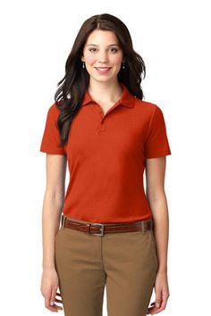 Port Authority® Ladies Stain-Resistant Polo. L510