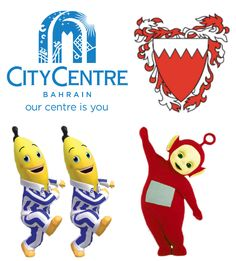 """Bahrain Tourism & Exhibitions Authority Hosts """"Bananas in Pajamas"""" and """"Teletubbies"""" at City Centre Bahrain"""