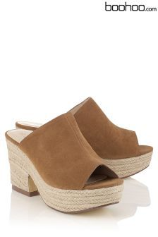 b33b15e4e94 Boohoo Espadrille Wedges Women s Shoes Sandals