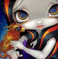 Faces of Faery #144 - Strangeling: The Art of Jasmine Becket-Griffith
