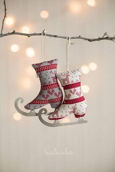 babioles / Patinage de Noël V