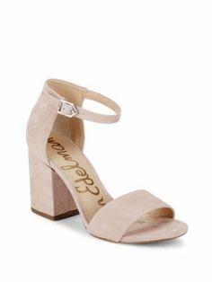 SAM EDELMAN Tilly Block Heel Sandals. #samedelman #shoes #sandals
