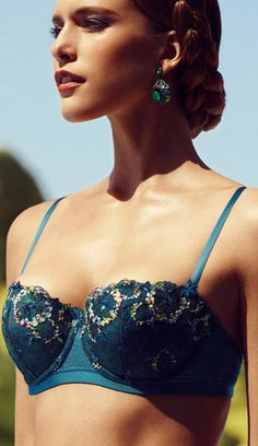 1be4a062aee Palais Royale Padded Demi Bra from on. Sedaz lingerie