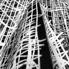 Laser cut textiles from hand-drawn illustrations; innovative fashion; fabric manipulation; textile technique // Elvira 't Hart