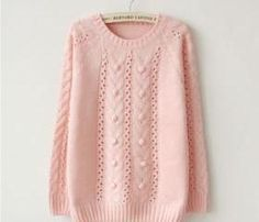 Cabbed Pullover Sweater on Luulla Japanese Fashion, Asian Fashion, Teen Fashion, Fashion Outfits, Girly Outfits, Casual Outfits, Cute Outfits, Cute Sweaters, Pullover Sweaters