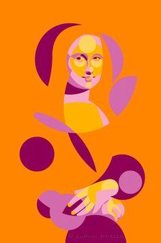 Lisa Mona [Karina Vitiello] (Gioconda / Mona Lisa)
