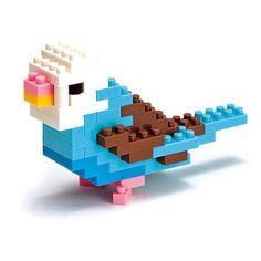 Nanoblock budgerigar