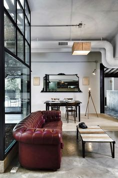 Source: My Scandinavian Home  Little bit of Sunday inspiration for you! Not sure what to call this - Industrial chic? Industrial eclectic?