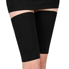 3bdfffe1fdda88 Yosoo 1 Pair Women Beauty Slim Weight Loss Fat Burn Thigh leg Massage Shaper  Elastic Slimming Leg Socks Massager Compression Thigh Leg Shaper Wrap Belt  ...