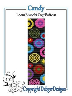 I used Miyuki Delica seed beads size 11 for my designs, but you can chop and change colors and beads as you please.  THIS PDF INCLUDES THE FOLLOWING:  1. A bead legend (bead numbers and colors needed)
