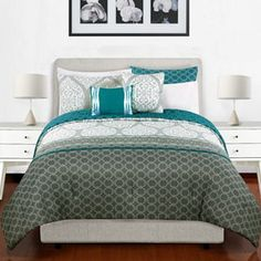 Natalia 5-pc. Reversible Comforter Set