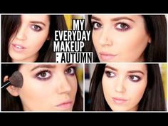 My Every Day Autumn Makeup Routine | velvetgh0st ♡ - YouTube