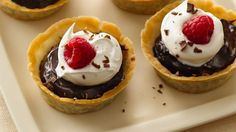 This decadent dessert made with Pillsbury® Gluten Free refrigerated pie and pastry dough is perfect for entertaining because it can be made ahead of time and can be enjoyed by all of your guests!
