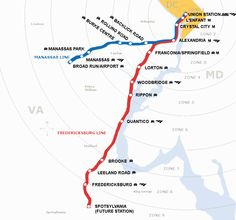 Virginia Railway Express - suburban Washington DC
