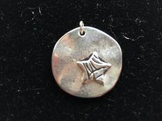 Starfish Pendant Silver Pendant Nautical Pendant Ocean Pendant Small Pendant Silver Starfish Starfish Jewelry - pinned by pin4etsy.com
