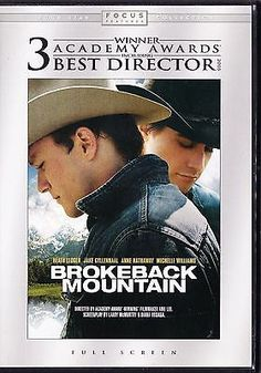 Brokeback Mountain (DVD 2006) Heath Ledger, Jake Gyllenhaal, Anne Hathaway