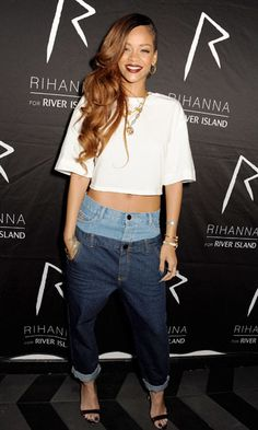 Would You Rock Rihanna's Double Jeans Look?