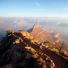 Travel to soaring views and explore the rims on these great trails