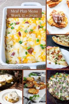 Customizable Ketogenic Low Carb Meal Plans sent right to your email each week! Low-Carb Keto Meal Plan Menu Week 37 | Sugar Free Mom Low Carb Meal Plan, Low Carb Keto, Keto Recipes, Healthy Recipes, Free Mom, Sugar Free, Meal Planning, Menu, How To Plan