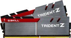 Настолна памет G.Skill Trident Z 16GB DDR4 3200MHz (F4-3200C16D-16GTZ) - цена и характеристики | Plasico IT Superstore