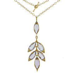 Cathy Waterman Amethyst Leaf Cluster Necklace ($7,850) ❤ liked on Polyvore featuring jewelry, necklaces, leaf pendant necklace, handcrafted necklaces, amethyst jewelry, long necklace and leaf necklace
