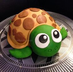 Schildkröte Motivtorte - Celebration cakes for women, Party organization ideas, Party plannig business 3d Cakes, Fondant Cakes, Cupcake Cakes, Bolo Fondant, Cupcakes Decorados, Animal Cakes, Food Humor, Cute Cakes, Creative Cakes