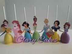 Disney Princess Cake Pops.