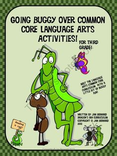 Going-Buggy-Over-Common-Core-Language-Arts-Activities-For-Third-Grade product from DragonsDenCurriculum on TeachersNotebook.com