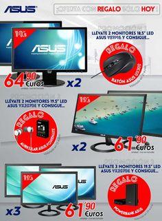 ¡Sólo hoy! Promoción monitores ASUS