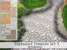 Pralinesims' Pavement Terrain Set 3