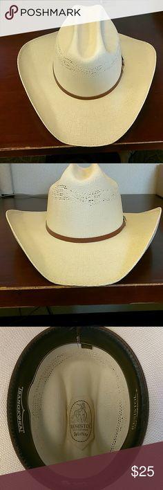 f9c92704822 Resistol Straw Cowboy Hat Resistol Straw Cowboy Hat
