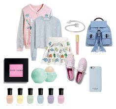 """""""Cute Casual"""" by rhysxevans ❤ liked on Polyvore featuring WithChic, MANGO, Olympia Le-Tan, Keds, Isaac Mizrahi, Gucci, Bobbi Brown Cosmetics, Eos, Deborah Lippmann and women's clothing"""