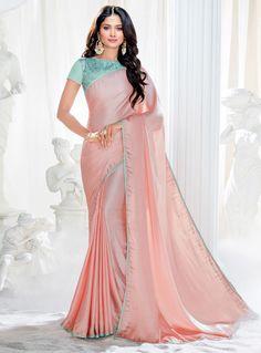 new saree collection Crepe Silk Sarees, Satin Saree, Tussar Silk Saree, Chiffon Saree, Choli Designs, Kurta Designs Women, Indian Bridal Sarees, Indian Beauty Saree, Indian Dresses