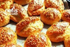 Enfes Çok Pratik Poğaça Tarifi Yummy Food, Tasty, Baked Potato, Deserts, Muffin, Turkey, Bread, Fruit, Vegetables