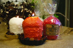 The lovely oversized votive from Warm Glow