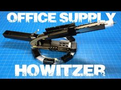 """DIY Mini Missile Launcher """"Office Supply Howitzer"""" - YouTube"""