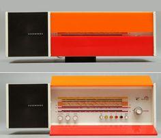 "Retro Future  1968 Nordmende ""Spectra Futura"" Desktop Radio   Design: Raymond Loewy   Available in different color combinations!"