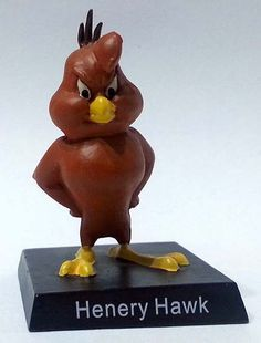 """Henery Hawk, numero 18 della """"Looney Tunes Collection"""" (2012) #Miniatures #Figures #LooneyTunes"""
