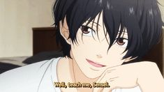 Ao Haru Ride Kou sure loves to tease Futuba 「Teach it to me, Sensei」| Kou's adorable bedhead!