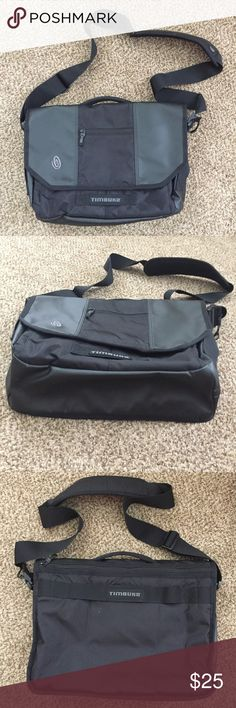 Timbuk2 Black Waterproof Messenger/Laptop Bag Timbuk2 Black Waterproof Messenger/Laptop Bag - Like new condition! Very clean inside and out. Has two spots on back of bag (see photos) but this bag is waterproof and perfect just in time for back to school! Timbuk2 Bags Laptop Bags