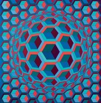 Cell by Victor Vasarely