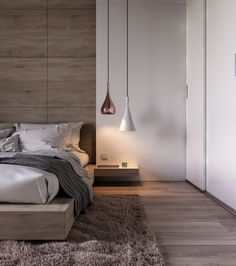 Minimalist Bedroom Design Ideas For Modern Home Decor On a budget - Less is more might sound like a vapid expression. However with the minimalist design trend, that's the spirit of this philosophy of design small bedroom. Bedroom Design Inspiration, Modern Bedroom Design, Contemporary Bedroom, Bedroom Designs, Design Ideas, Modern Bedrooms, Master Bedrooms, Design Projects, Modern Design