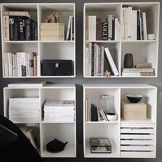Staying organized by @tinebjerregaard #montana #furniture #danish #design #bookcase #bookshelf #danish #design